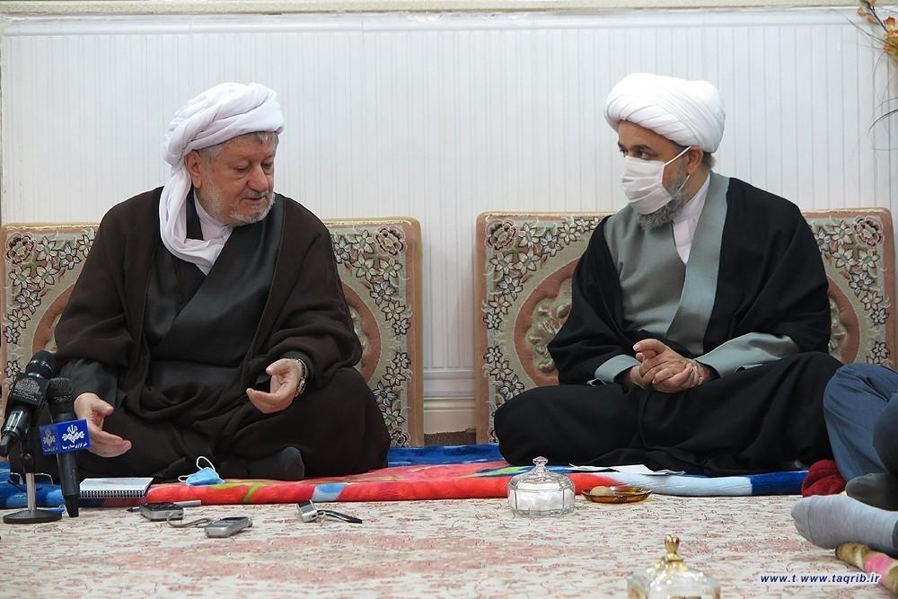 دیدار با امام جمعه اهل سنت پاوه و اعضای شورای روحانیت شهرستان پاوه