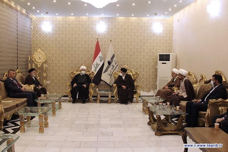 استقبال دبیر کل دکتر شهریاری در بغداد
