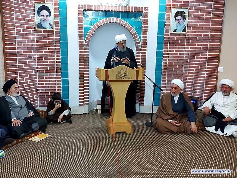 دیدار دبیرکل مجمع تقریب با علما و شخصیت های دینی نجف در عراق