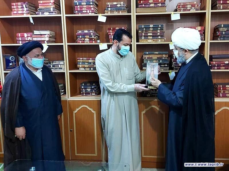 بازدید دبیرکل مجمع تقریب مذاهب اسلامی از مجموعه کاشف الغطاء در عراق