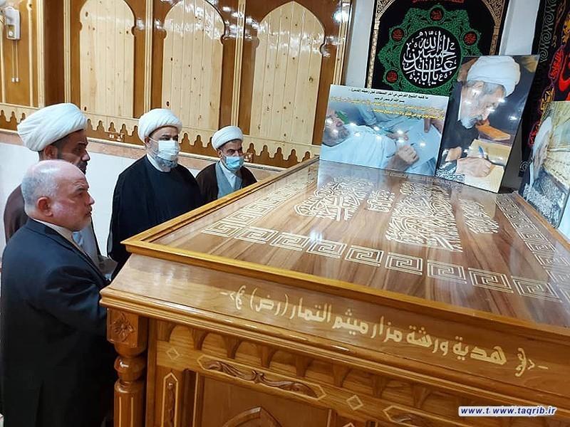 بازدید دبیرکل مجمع تقریب مذاهب اسلامی از کتابخانه القرشی در عراق