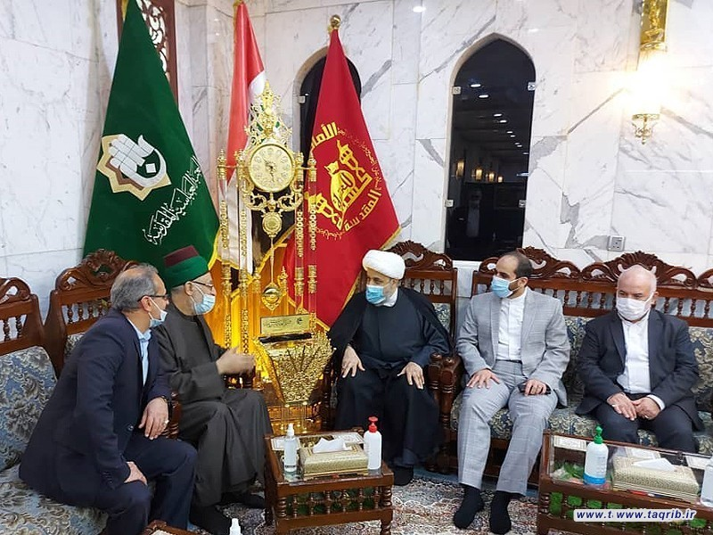 دیدار دبیرکل مجمع تقریب از سرکنسولگری ایران در کربلا و دفتر آیت الله حکیم در نجف اشرف