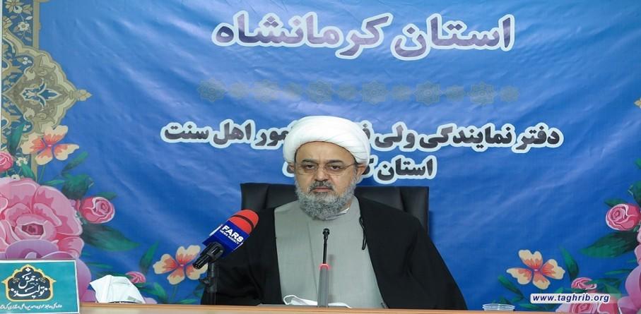 الشيخ شهرياري : العدو اليوم يستخدم الحرب الناعمة ليهدد وحدة المسلمين