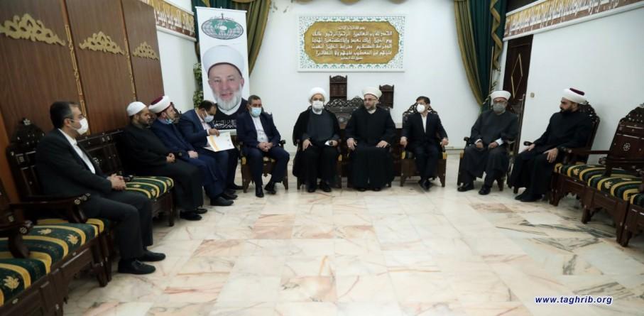 شیخ جبری در دیدار با دکتر شهریاری: مجمع جهانی تقریب مذاهب اسلامی روشی وحدتگرا در مقابله با چالشها ارائه داده است