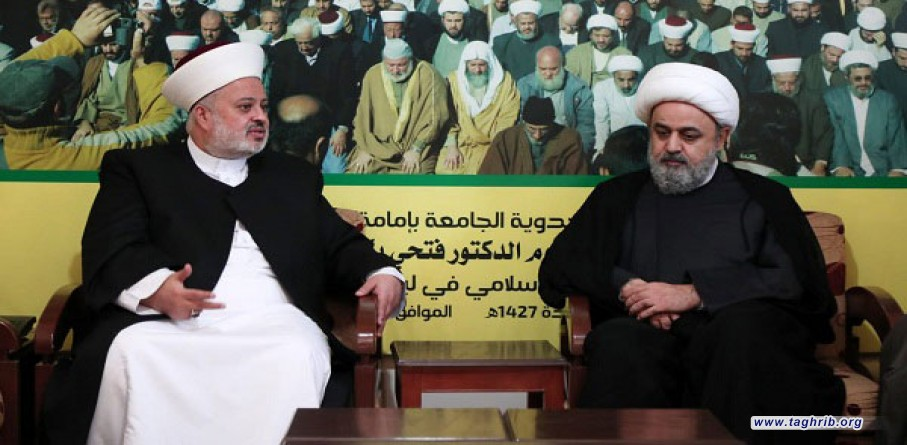 دیدار دبیرکل مجمع جهانی تقریب مذاهب اسلامی با اعضای جبهه عمل اسلامی لبنان