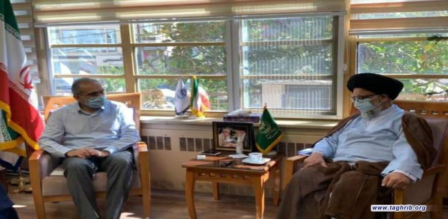 حسینی در دیدار با دبیرکل حزب اسلامی تبیان افغانستان: شناخت جریان های فکری لازمه تقریب مذاهب است