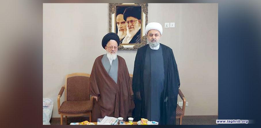 """الدكتور """"حميد شهرياري""""يلتقي مع ممثل ولي الفقيه في العراق"""