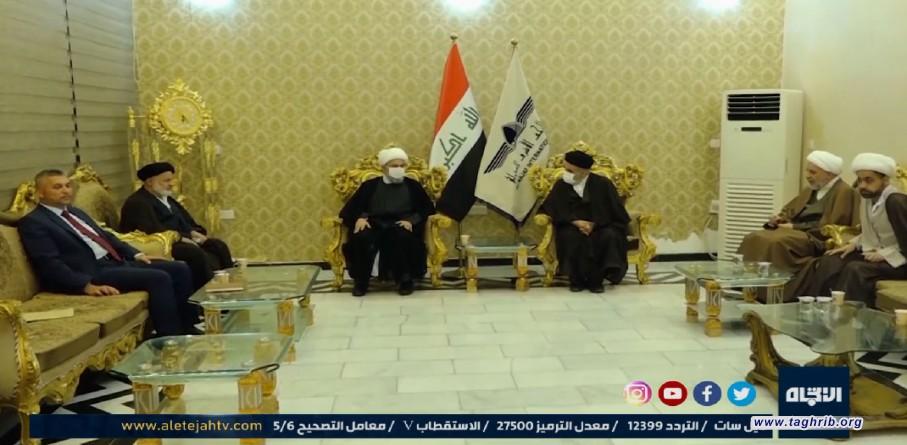 تقرير قناة الاتجاه الفضائية حول زيارة الأمين العام الدكتور حميد شهرياري للعراق | فيديو