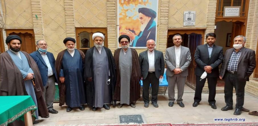 صبح امروز صورت گرفت | بازدید دبیرکل مجمع جهانی تقریب مذاهب اسلامی از بیت قدیمی بنیانگذار انقلاب اسلامی در نجف