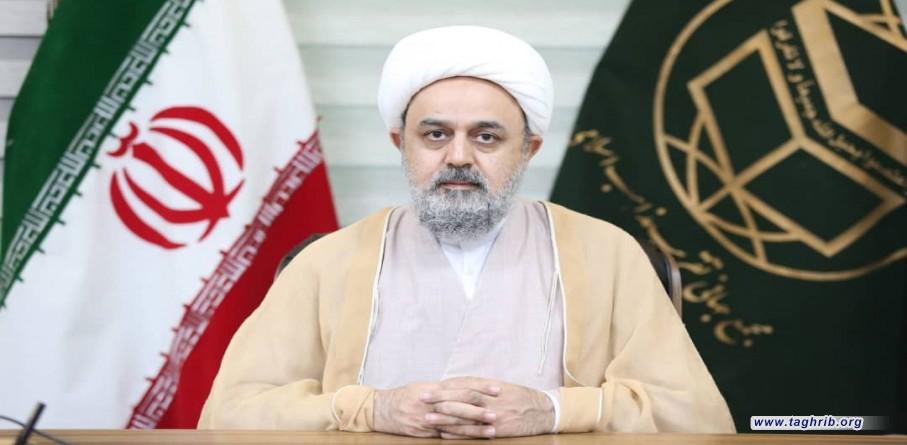 الامين العام للمجمع العالمي للتقريب بين المذاهب الاسلامية الدكتور شهرياري يشيد بالجهود التي يبذلها شعبي ايران والعراق لتعزيز وحدة المسلمين