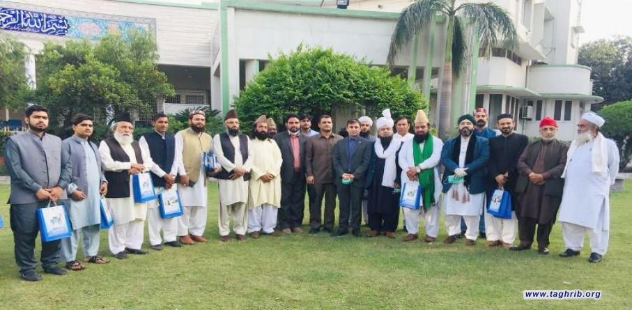 علماء أهل السنة في باكستان يشيدون بمواقف ايران الداعمة للوحدة بين المسلمين