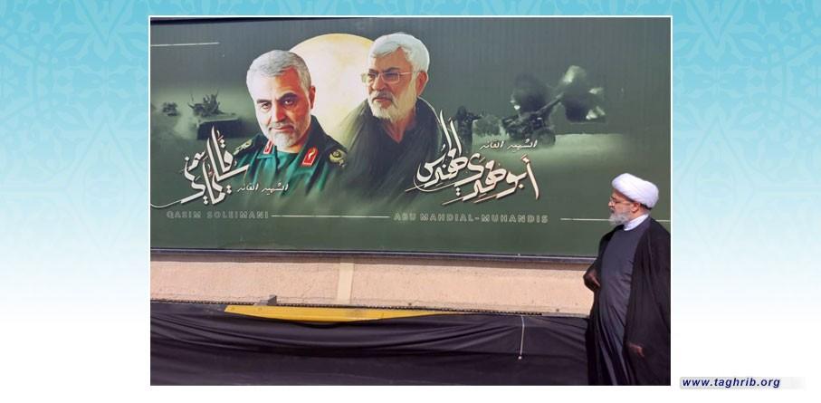 از سوی دبیرکل مجمع جهانی تقریب مذاهب اسلامی صورت گرفت: ادای احترام به یادمان شهیدان سلیمانی و المهندس در فرودگاه بغداد
