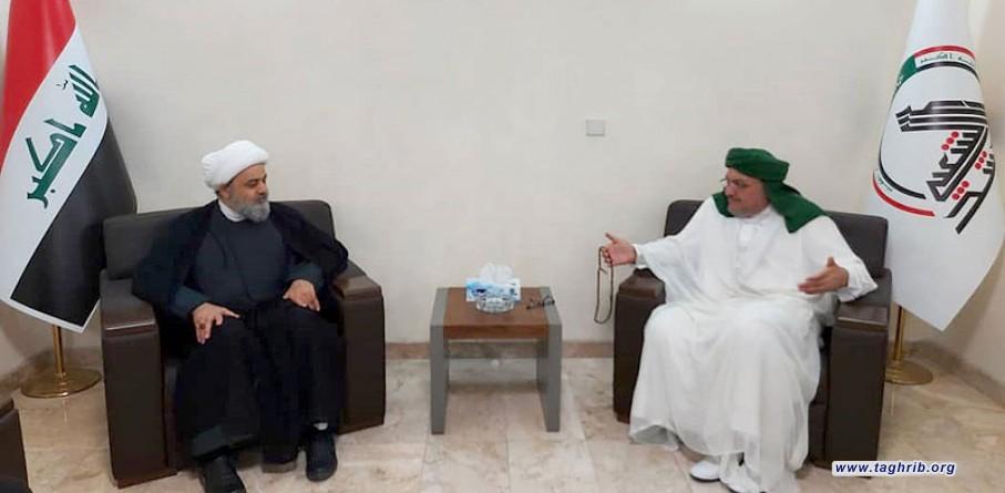 رئیس جمعیت علمای رباط محمدی عراق: تنها راه مقابله با تهاجم حفظ وحدت و برادری است