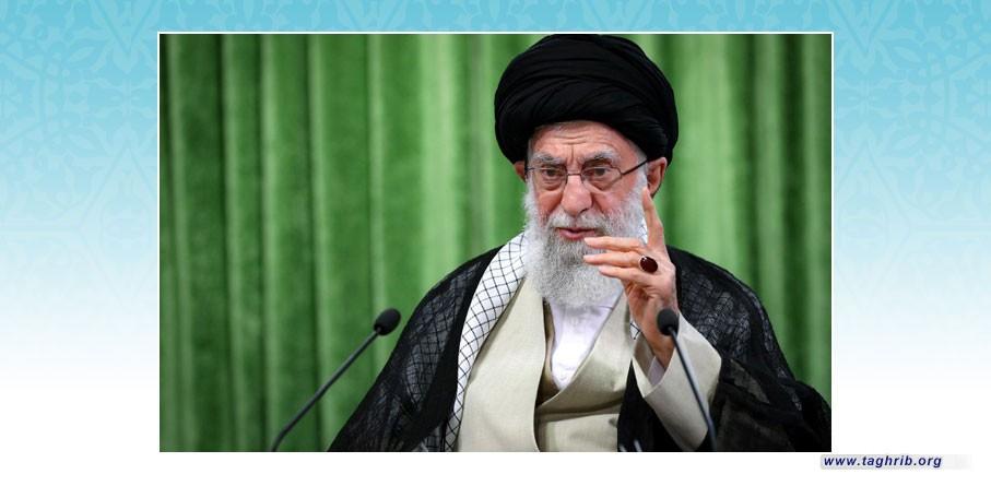 قائد الثورة الاسلامية: لا يمكن الحديث مع المجرمين الصهاينة إلا بلغة القوة