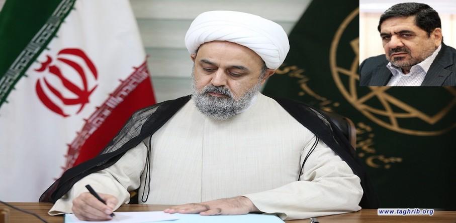 دبیرکل مجمع جهانی تقریب درگذشت علیرضا تابش را تسلیت گفت