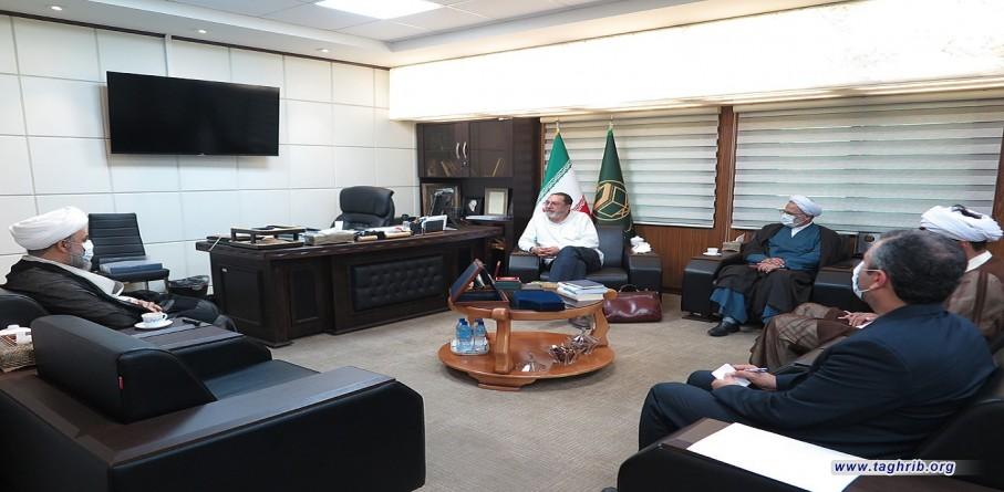 رئیس کمیسیون حقوق بشر اسلامی لندن با دبیرکل مجمع جهانی تقریب مذاهب اسلامی دیدار کرد