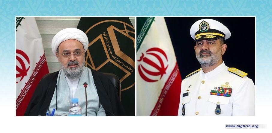 دبیرکل مجمع جهانی تقریب مذاهب اسلامی انتصاب فرمانده جدید نیروی دریایی ارتش را تبریک گفت