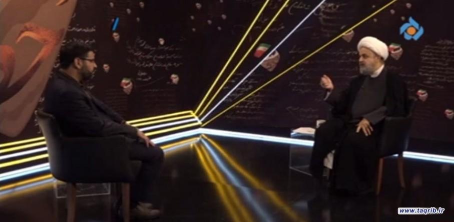 حضور حجت الاسلام والمسلمین دکتر حمید شهریاری در برنامه (دست خط) شبكه 5 سيما