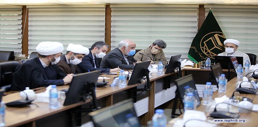 """الامين العام الدكتور حميد شهرياري يشارك في الاجتماع التنسيقي للمؤتمر الكتروني للتكريم """"الشهيد المولوي محمد اياز نيازي، منادي الوحدة"""""""