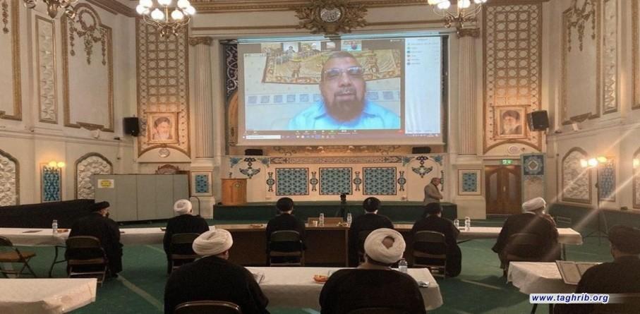 مجلس ختم آیت الله تسخیری در مرکز اسلامی لندن