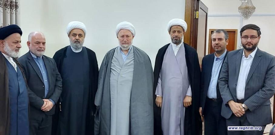 دیدار دبیرکل مجمع تقریب با آیت الله خالصی از مراجع تقلید در کشور عراق