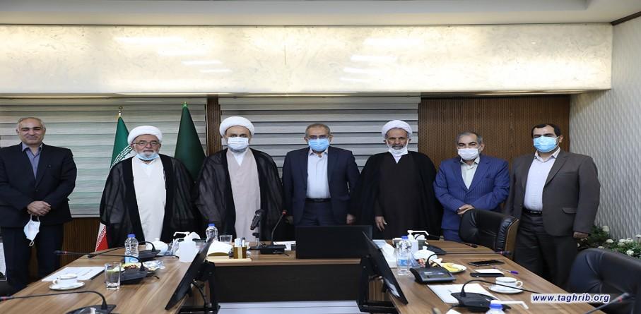 جلسه هیئت امنای دانشگاه مذاهب اسلامی و تقدیر از دکتر سید محمد حسینی