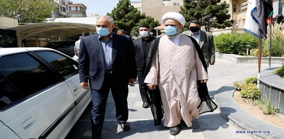 بازدید دبیرکل مجمع تقریب مذاهب از دانشگاه مذاهب اسلامی