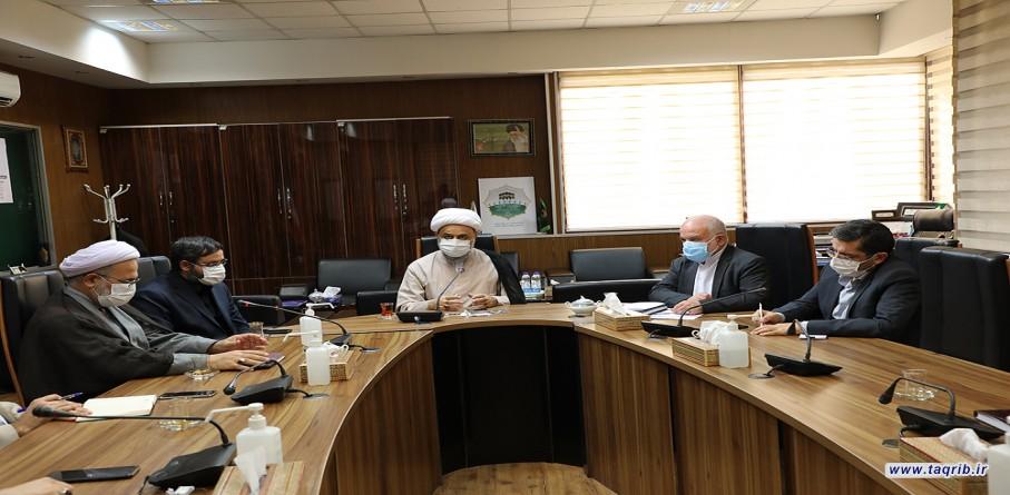 دهمین جلسه ستاد اجرایی سی و پنجمین کنفرانس بین المللی وحدت اسلامی