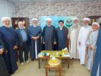 بازدید حجت الاسلام والمسلمین شهریاری از ساختمان مجمع تقریب در کشور عراق