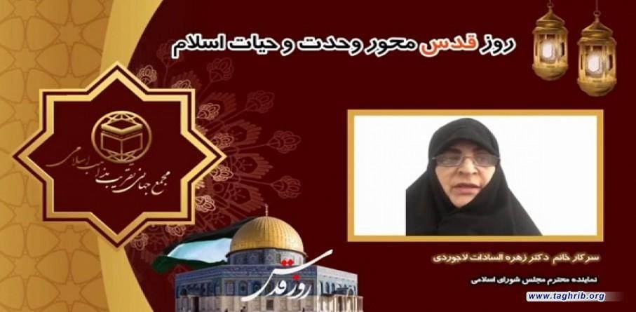 لاجوردی: نامگذاری روز قدس ازسوی امام راحل انرژی تازه ای را برای دفاع از آرمان فلسطین به صحنه آورد